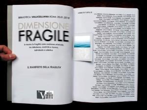 DIMENSIONE FRAGILE -